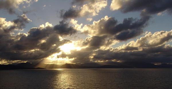 Sunset - Haiti