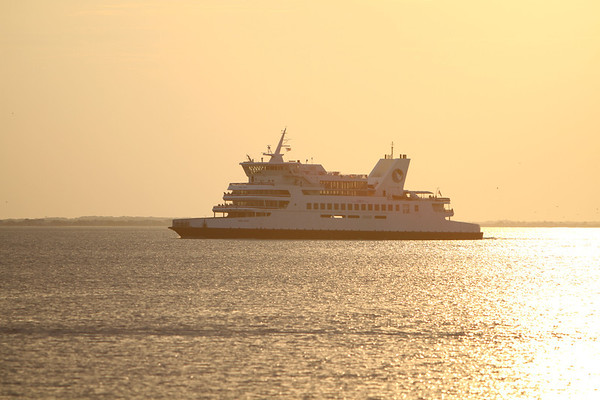 Cape May - Lewes Ferry at Sunset