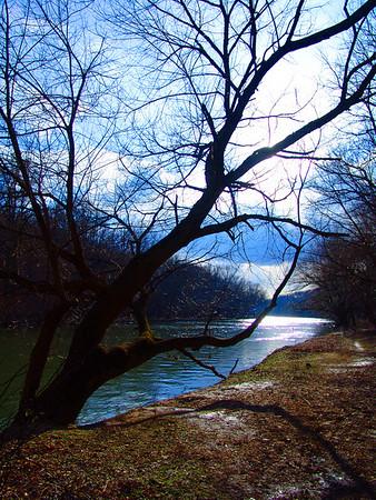 Brandywine Creek in Winter - Wilmington, Delaware