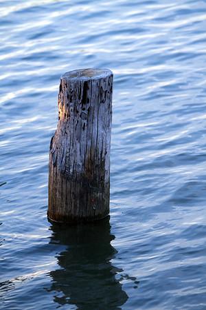 Old Pier Pylon - Cape Henlopen Fishing Pier - Lewes, Delaware