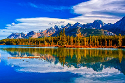 Peaceful and serene