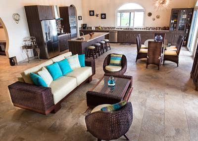 Interior livingroom Costa Pedasi