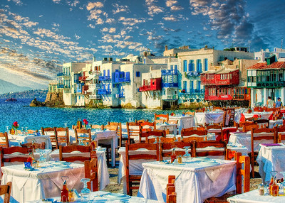 Mykonos Sunset Dining