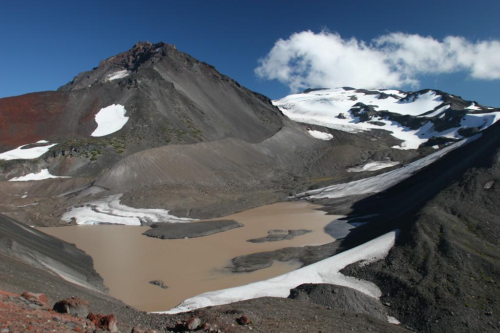 Collier glacier and North Sister