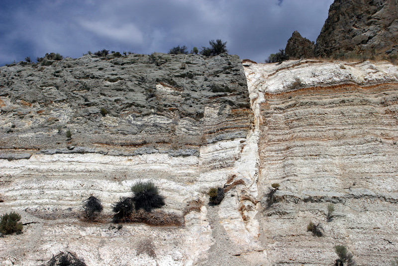 Normal fault, near Vale, SE Oregon.