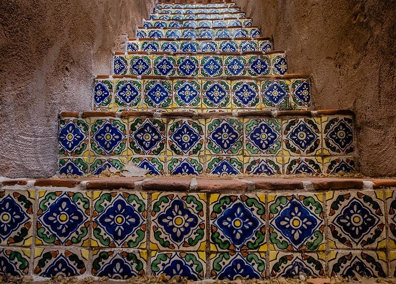 Tiled Staircase, Sedona, Arizona