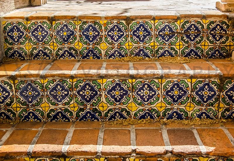 Tiled Steps, Sedona, Arizona