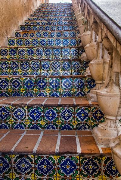 Tiled Stairway, Sedona, Arizona