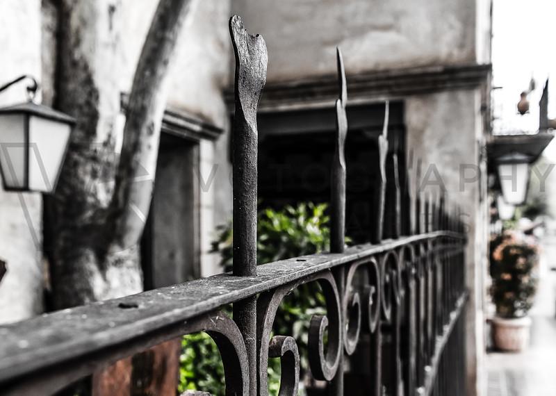 Cast-Iron Fence, Sedona, Arizona