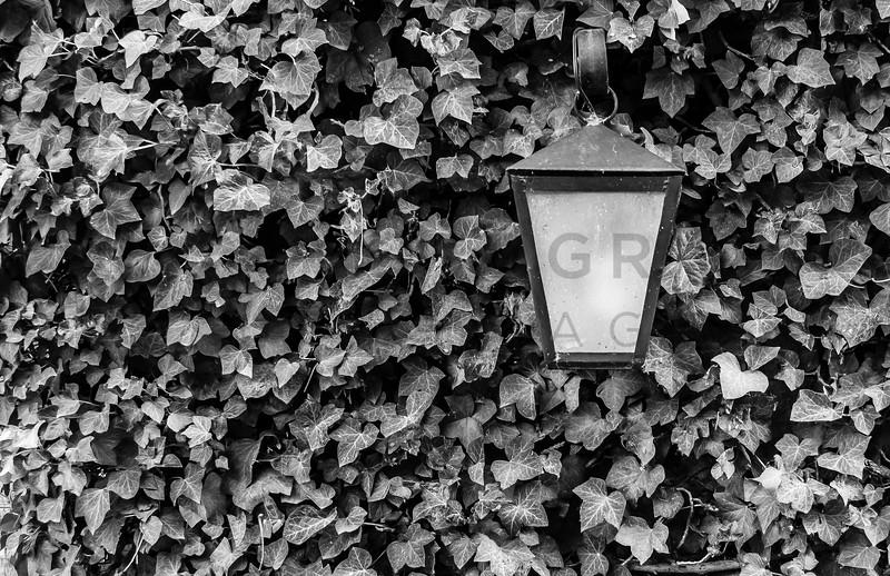 Streetlamp, Sedona, Arizona