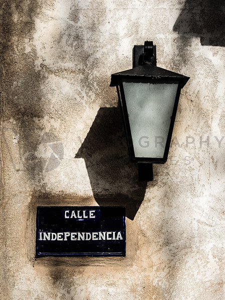 Street Lamp on Calle Independencia, Sedona, Arizona