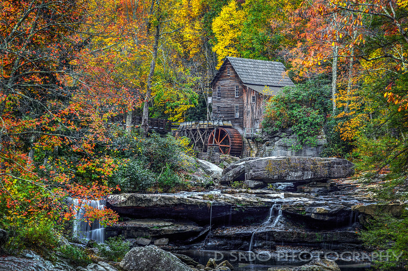 Grist Mill, Babcock State Park,WV