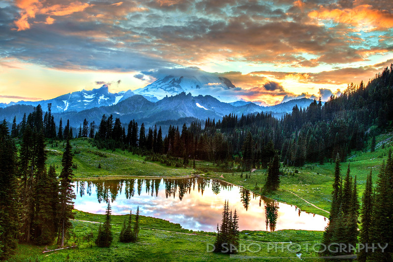 Mount Rainier Twilight