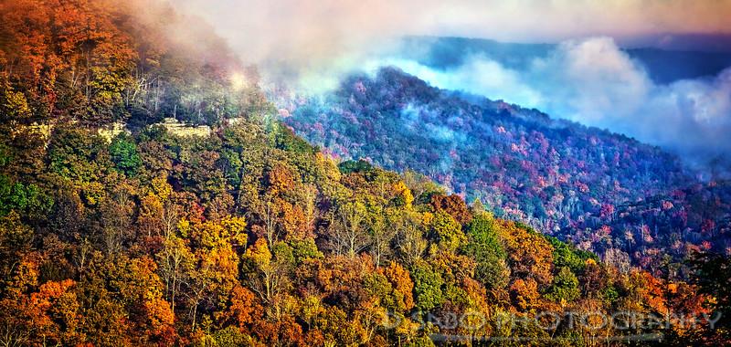 Fall Creek Mountain Top