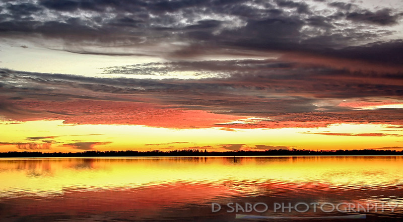 Florida River Sunset