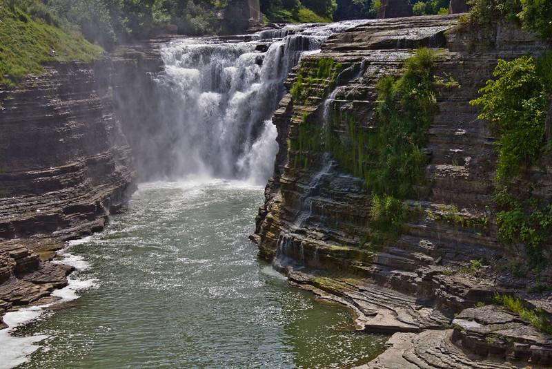 upper falls letchworth park