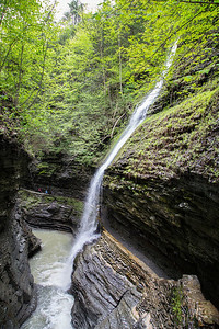 gorge trail at Watkins Glen state park
