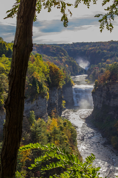 inspiration point. Letchworth State Park