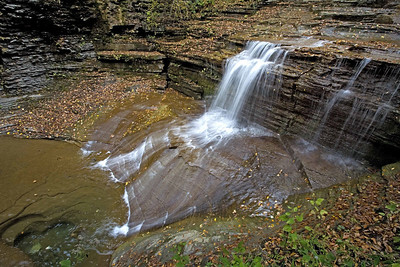 whisper falls Finger lakes