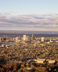 Rochester Skyline around 1990