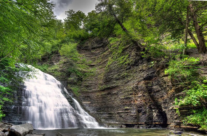 Second Falls at Grimes Glen, Naples, NY