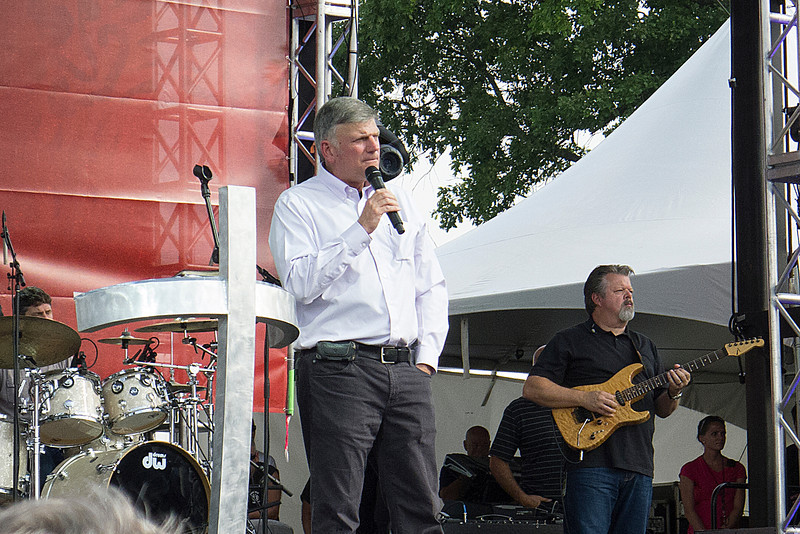 Franklin Graham at Rock the Lakes in Rochester, NY June 17, 2012