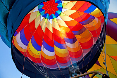Balloon Festival, Letchworth State Park 2009; Flame II