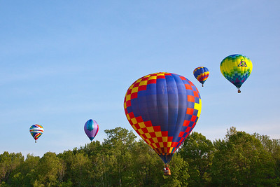 Balloon Festival, Letchworth State Park 2009