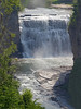 Vertical panorama of middle falls; Letchworth State Park,  Image was exposed in three sections (top  middle and bottom) with Canon 500mm f/4 IS lens