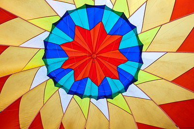 Balloon Festival, Letchworth State Park 2009; Inside the balloon; Flame II