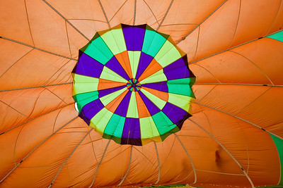 Balloon Festival, Letchworth State Park 2009; Inside the balloon