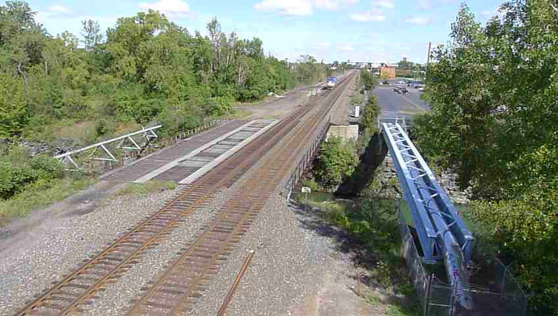 Passenger train going to Toronto 9/16/11