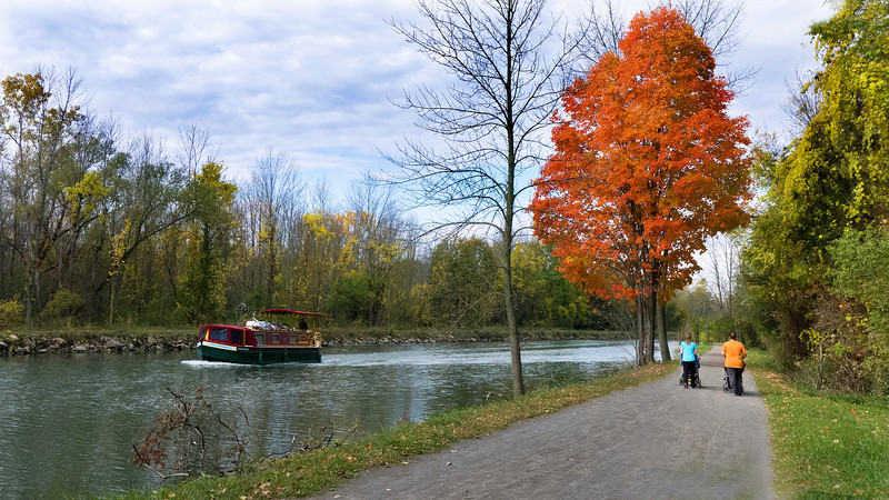 On the Canal trail 10/17/12