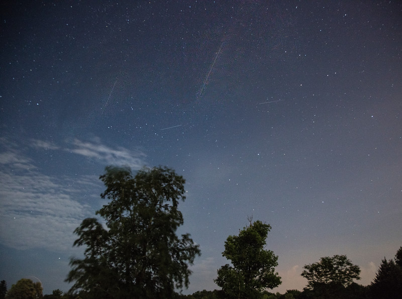 Presides meteor shower .....poor composite