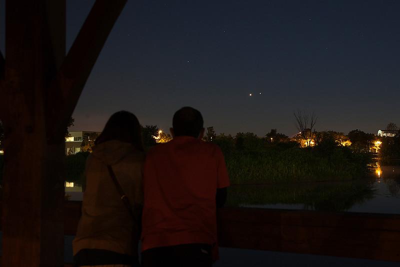 Jupiter and Venus in Conjunction