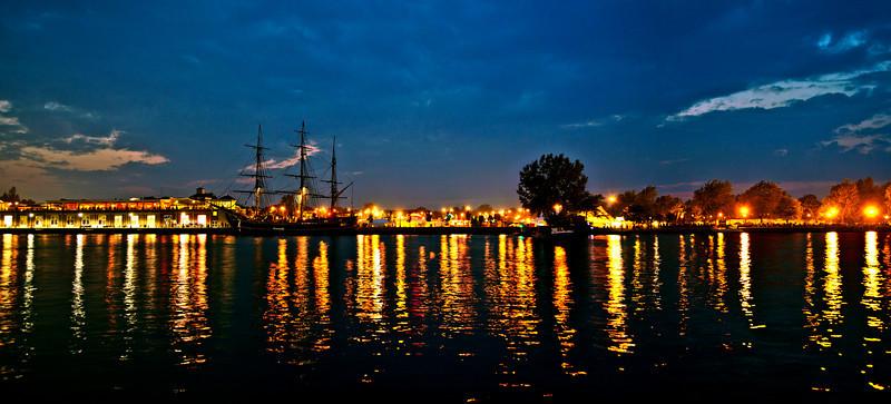 Harborfest, June 25, 2010.  Replica of the HMS Bounty