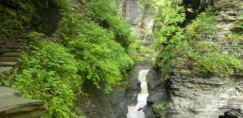 Watkins Glen Entrance pan Finger Lakes