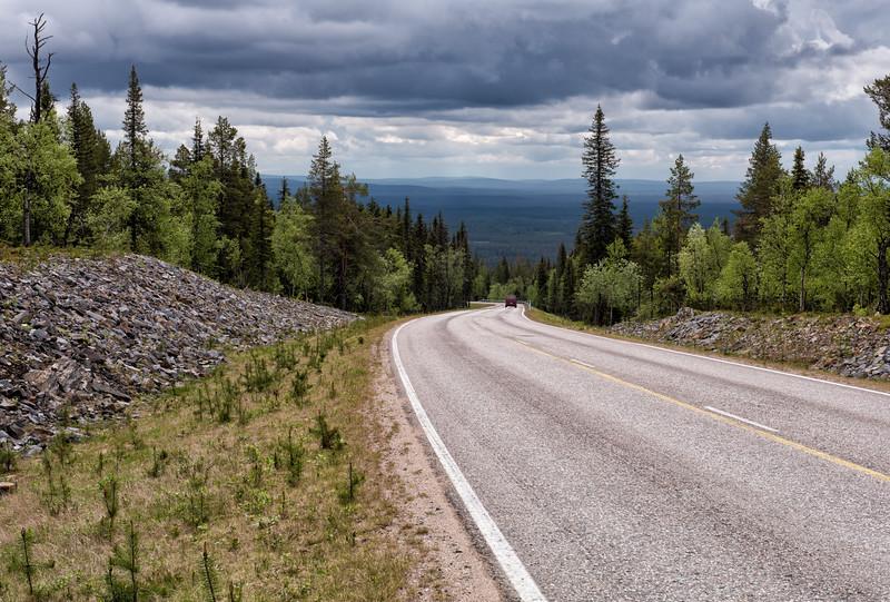 The Ylläs Scenic Route