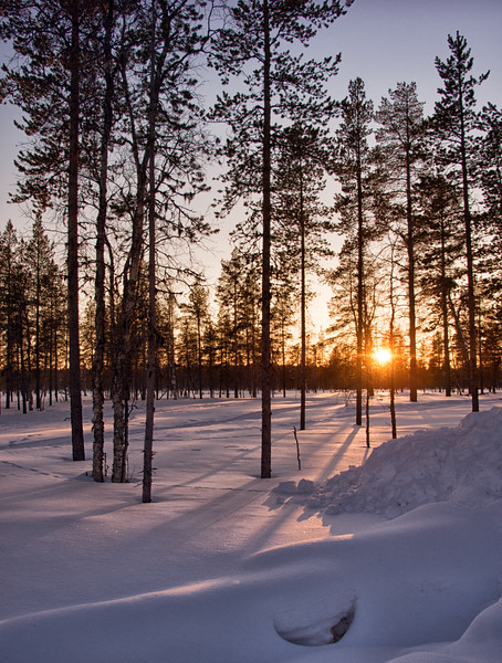 Yet Another Gorgeous Lapland Sunset