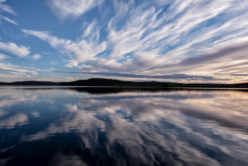 Menesjärvi's Crazy Clouds