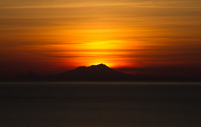 Mt. Douglas Sunset - IMG_0770