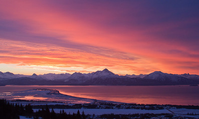 Winter Sunrise 2 - Homer, AK - IMG_0824