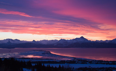 Winter Sunrise 1 - Homer, AK - IMG_814
