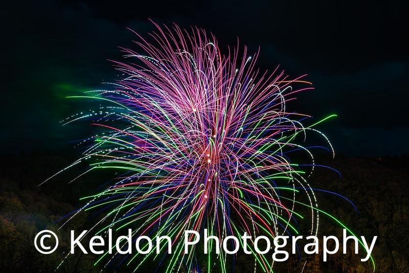 Fireworks Moulin de Lecq Jersey 2017