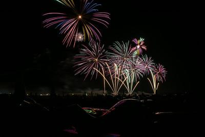 AirVenture 2014 Fireworks-2