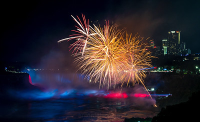 Niagara Falls Firework Display
