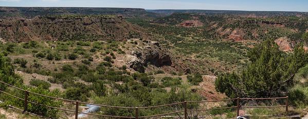 Palo Duro Canyon. Texas