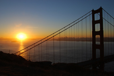 Golden Gate Sunrise  © 2007 Brian Neal