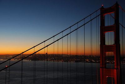 Golden Gate at Dawn  © 2007 Brian Neal