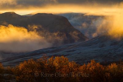 Høstmorgen over Døråldalen